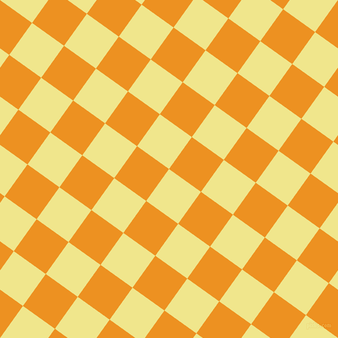 54/144 degree angle diagonal checkered chequered squares checker pattern checkers background, 56 pixel squares size, , Khaki and Carrot Orange checkers chequered checkered squares seamless tileable