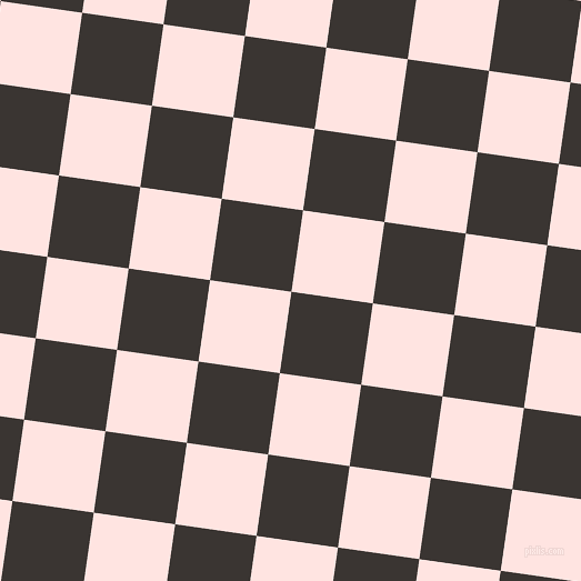 82/172 degree angle diagonal checkered chequered squares checker pattern checkers background, 74 pixel square size, , Kilamanjaro and Misty Rose checkers chequered checkered squares seamless tileable