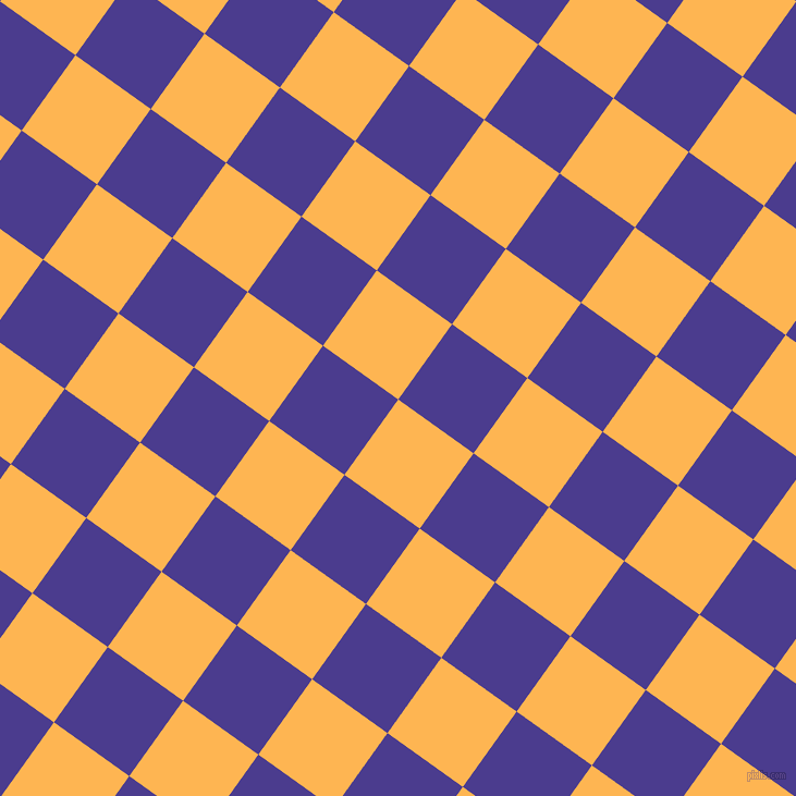 54/144 degree angle diagonal checkered chequered squares checker pattern checkers background, 85 pixel squares size, , Koromiko and Blue Gem checkers chequered checkered squares seamless tileable