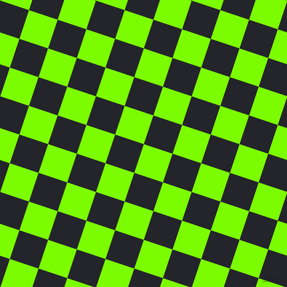 72/162 degree angle diagonal checkered chequered squares checker pattern checkers background, 60 pixel squares size, , Lawn Green and Black Russian checkers chequered checkered squares seamless tileable