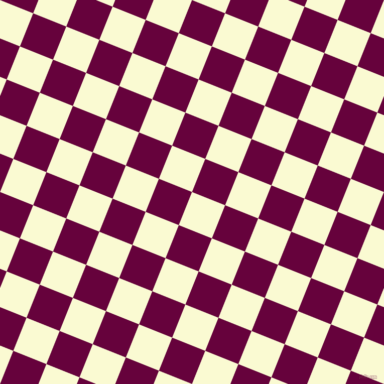 68/158 degree angle diagonal checkered chequered squares checker pattern checkers background, 71 pixel squares size, , Light Goldenrod Yellow and Tyrian Purple checkers chequered checkered squares seamless tileable