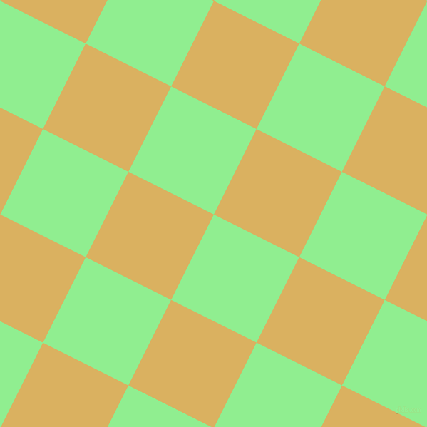 63/153 degree angle diagonal checkered chequered squares checker pattern checkers background, 134 pixel squares size, Light Green and Equator checkers chequered checkered squares seamless tileable