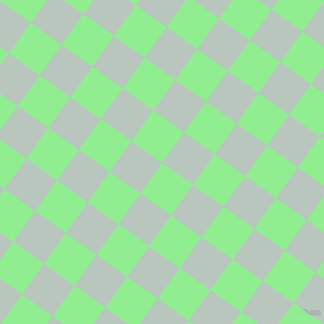 54/144 degree angle diagonal checkered chequered squares checker pattern checkers background, 55 pixel square size, , Light Green and Nebula checkers chequered checkered squares seamless tileable
