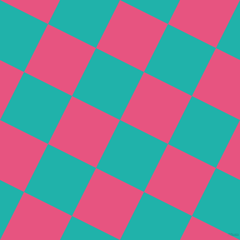 63/153 degree angle diagonal checkered chequered squares checker pattern checkers background, 171 pixel squares size, , Light Sea Green and Dark Pink checkers chequered checkered squares seamless tileable