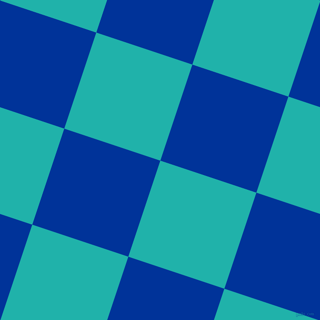 72/162 degree angle diagonal checkered chequered squares checker pattern checkers background, 199 pixel squares size, , Light Sea Green and Smalt checkers chequered checkered squares seamless tileable