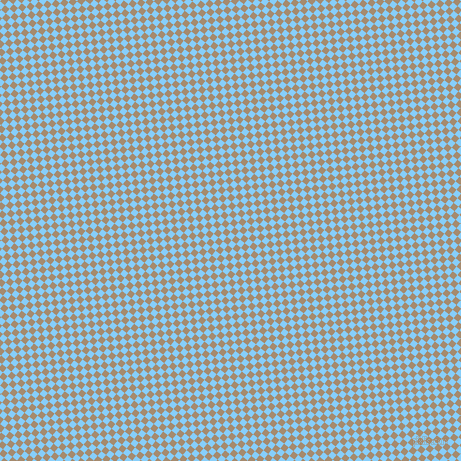 51/141 degree angle diagonal checkered chequered squares checker pattern checkers background, 6 pixel squares size, Light Sky Blue and Mongoose checkers chequered checkered squares seamless tileable