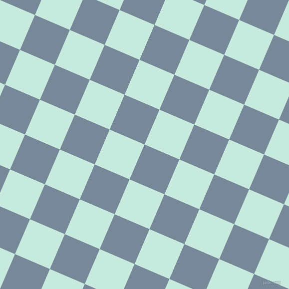 67/157 degree angle diagonal checkered chequered squares checker pattern checkers background, 76 pixel square size, , Light Slate Grey and Mint Tulip checkers chequered checkered squares seamless tileable