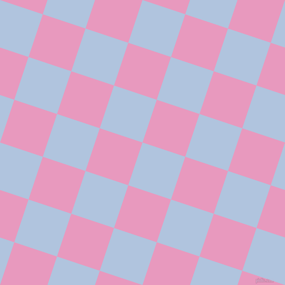 72/162 degree angle diagonal checkered chequered squares checker pattern checkers background, 89 pixel square size, , Light Steel Blue and Shocking checkers chequered checkered squares seamless tileable