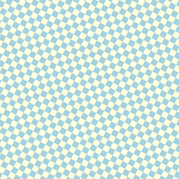 61/151 degree angle diagonal checkered chequered squares checker pattern checkers background, 19 pixel square size, , Light Yellow and French Pass checkers chequered checkered squares seamless tileable
