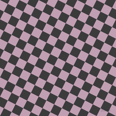 63/153 degree angle diagonal checkered chequered squares checker pattern checkers background, 33 pixel square size, , Lily and Fuscous Grey checkers chequered checkered squares seamless tileable