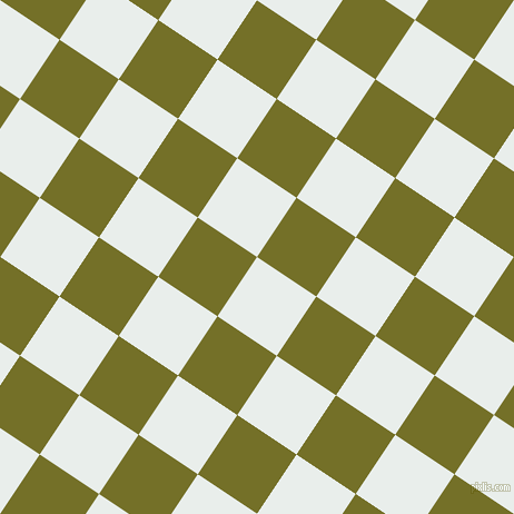 56/146 degree angle diagonal checkered chequered squares checker pattern checkers background, 64 pixel squares size, , Lily White and Olivetone checkers chequered checkered squares seamless tileable