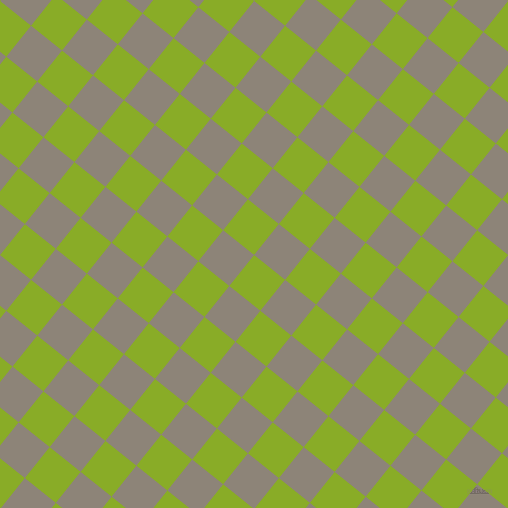 51/141 degree angle diagonal checkered chequered squares checker pattern checkers background, 56 pixel square size, , Limerick and Schooner checkers chequered checkered squares seamless tileable