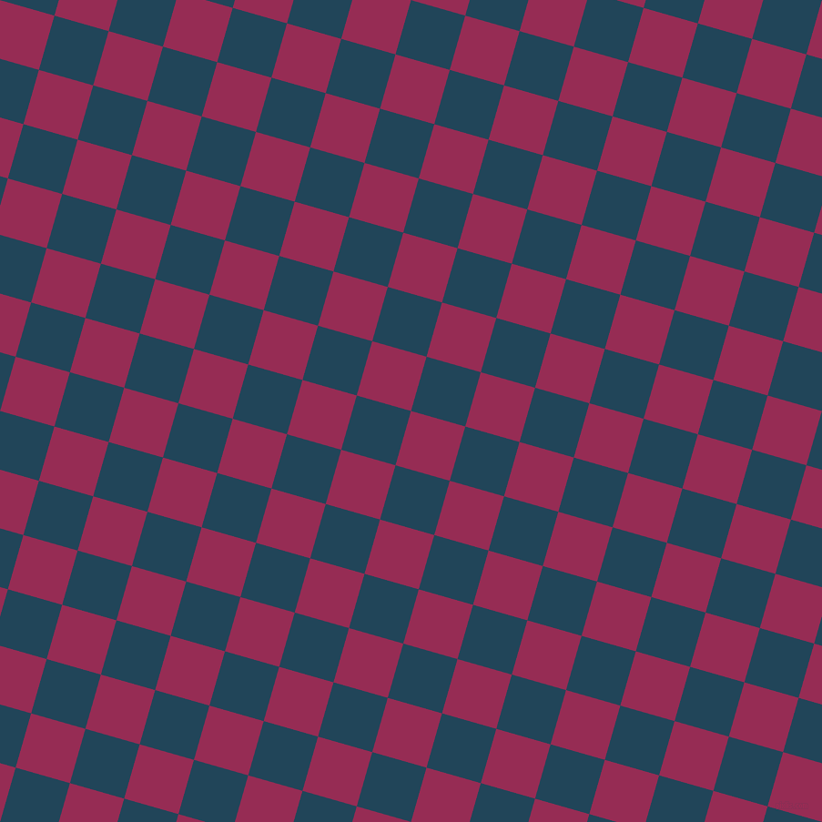 74/164 degree angle diagonal checkered chequered squares checker pattern checkers background, 62 pixel squares size, , Lipstick and Astronaut Blue checkers chequered checkered squares seamless tileable