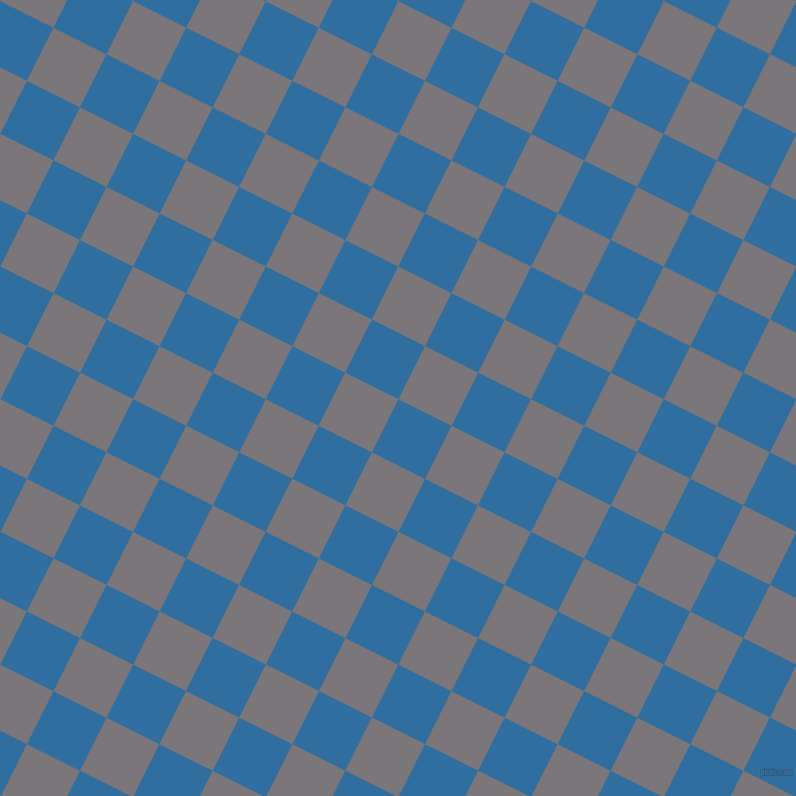63/153 degree angle diagonal checkered chequered squares checker pattern checkers background, 65 pixel square size, , Lochmara and Monsoon checkers chequered checkered squares seamless tileable