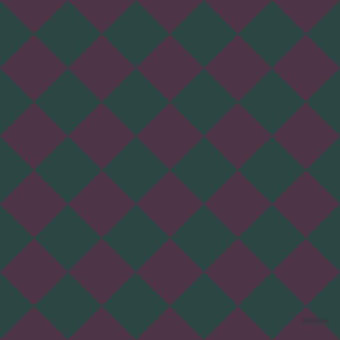 45/135 degree angle diagonal checkered chequered squares checker pattern checkers background, 69 pixel square size, , Loulou and Gable Green checkers chequered checkered squares seamless tileable