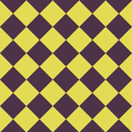 45/135 degree angle diagonal checkered chequered squares checker pattern checkers background, 61 pixel squares size, , Loulou and Manz checkers chequered checkered squares seamless tileable