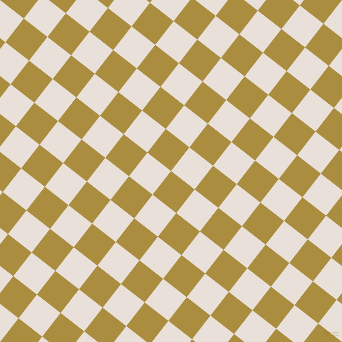 52/142 degree angle diagonal checkered chequered squares checker pattern checkers background, 61 pixel squares size, , Luxor Gold and Spring Wood checkers chequered checkered squares seamless tileable