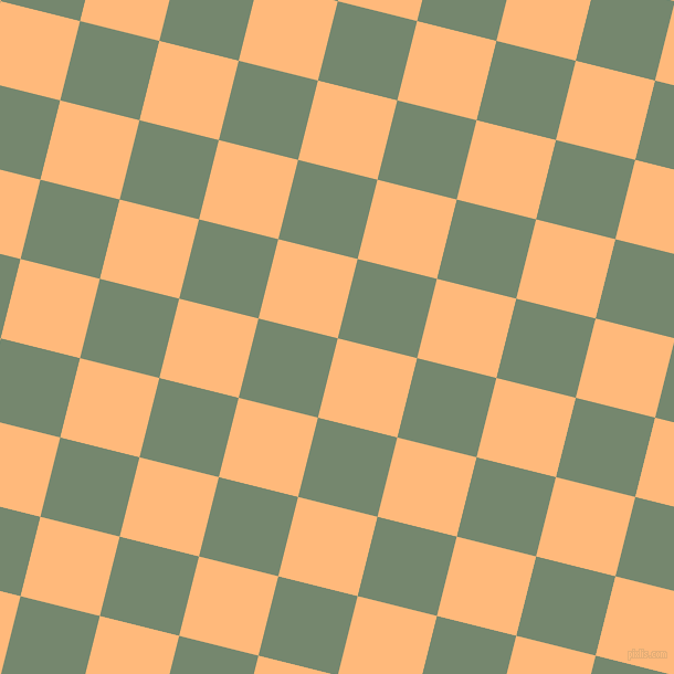 76/166 degree angle diagonal checkered chequered squares checker pattern checkers background, 74 pixel squares size, , Macaroni And Cheese and Xanadu checkers chequered checkered squares seamless tileable