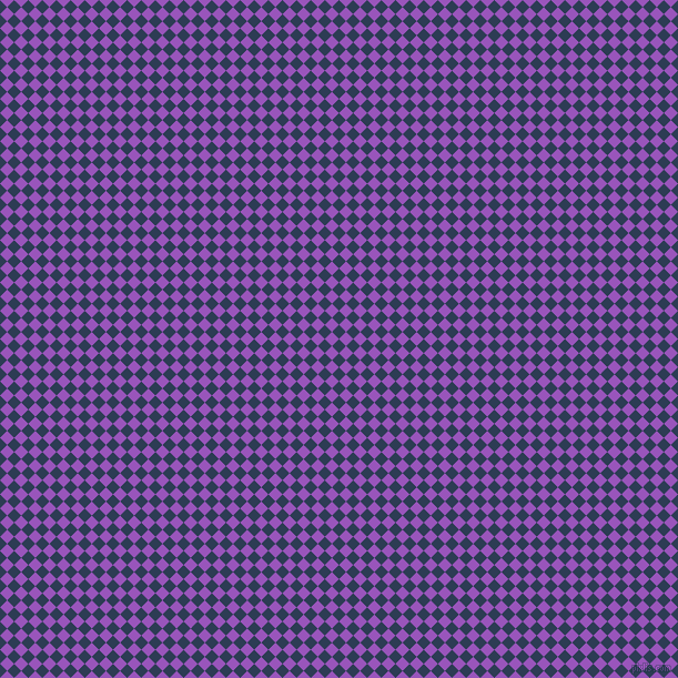 45/135 degree angle diagonal checkered chequered squares checker pattern checkers background, 9 pixel squares size, , Madison and Deep Lilac checkers chequered checkered squares seamless tileable