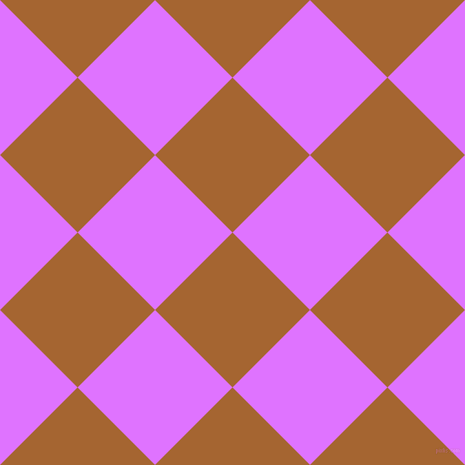 45/135 degree angle diagonal checkered chequered squares checker pattern checkers background, 159 pixel square size, , Mai Tai and Heliotrope checkers chequered checkered squares seamless tileable
