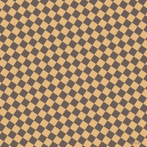 56/146 degree angle diagonal checkered chequered squares checker pattern checkers background, 22 pixel squares size, , Maize and Dorado checkers chequered checkered squares seamless tileable