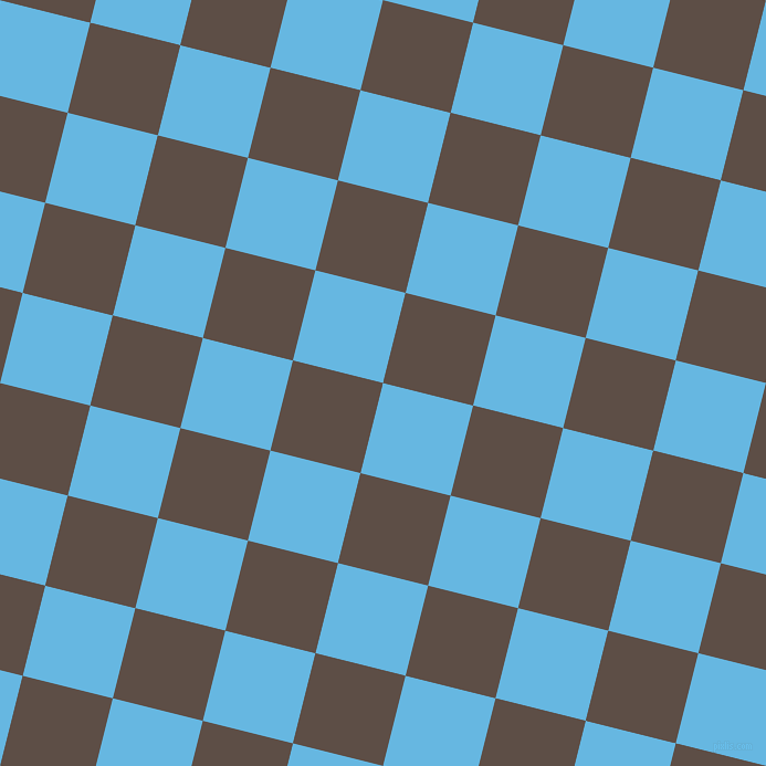 76/166 degree angle diagonal checkered chequered squares checker pattern checkers background, 84 pixel square size, Malibu and Saddle checkers chequered checkered squares seamless tileable
