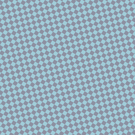 59/149 degree angle diagonal checkered chequered squares checker pattern checkers background, 13 pixel square size, , Manatee and Regent St Blue checkers chequered checkered squares seamless tileable
