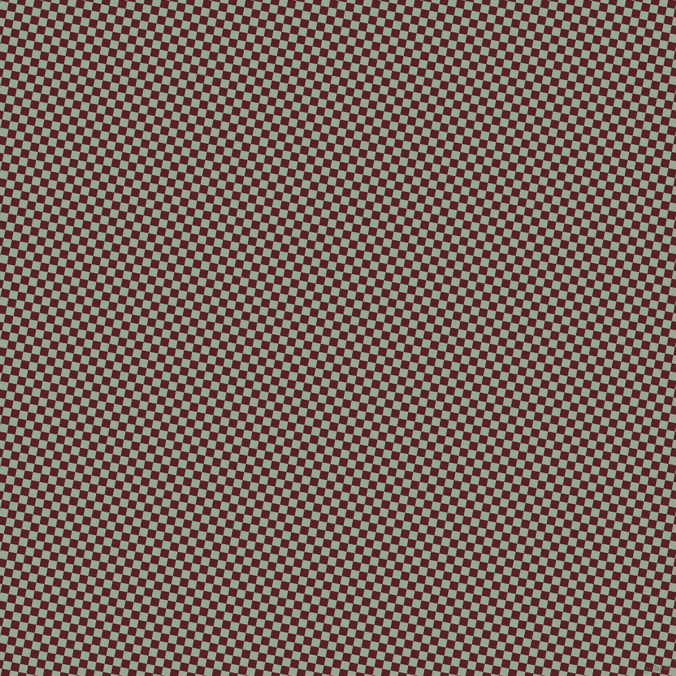 79/169 degree angle diagonal checkered chequered squares checker pattern checkers background, 12 pixel square size, , Mantle and Burnt Crimson checkers chequered checkered squares seamless tileable