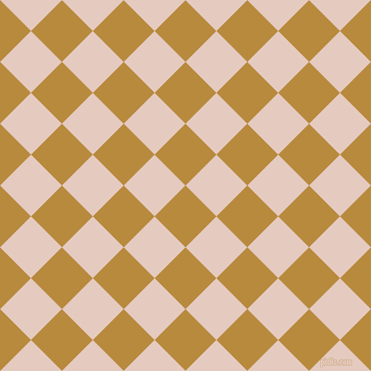 45/135 degree angle diagonal checkered chequered squares checker pattern checkers background, 49 pixel square size, , Marigold and Dust Storm checkers chequered checkered squares seamless tileable