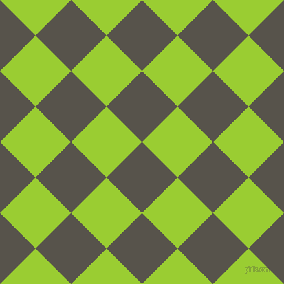 45/135 degree angle diagonal checkered chequered squares checker pattern checkers background, 73 pixel squares size, , Masala and Yellow Green checkers chequered checkered squares seamless tileable