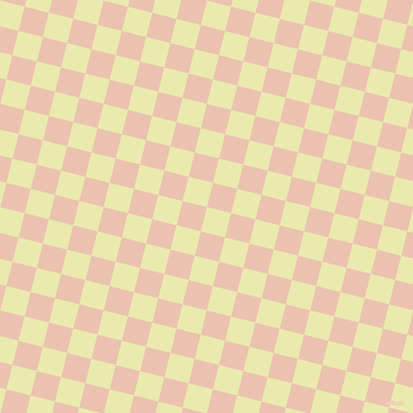76/166 degree angle diagonal checkered chequered squares checker pattern checkers background, 51 pixel squares size, , Medium Goldenrod and Zinnwaldite checkers chequered checkered squares seamless tileable