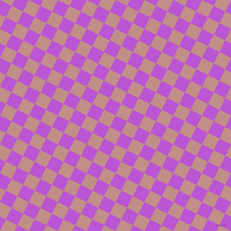 63/153 degree angle diagonal checkered chequered squares checker pattern checkers background, 45 pixel square size, , Medium Orchid and Oriental Pink checkers chequered checkered squares seamless tileable