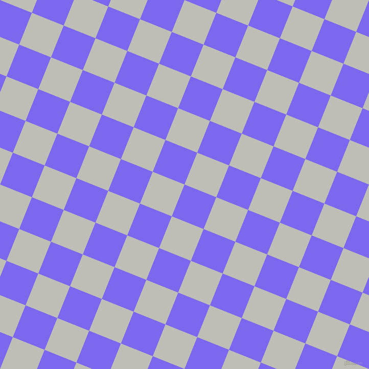 68/158 degree angle diagonal checkered chequered squares checker pattern checkers background, 67 pixel square size, , Medium Slate Blue and Silver Sand checkers chequered checkered squares seamless tileable