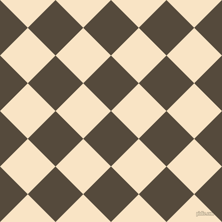 45/135 degree angle diagonal checkered chequered squares checker pattern checkers background, 79 pixel square size, , Metallic Bronze and Egg Sour checkers chequered checkered squares seamless tileable