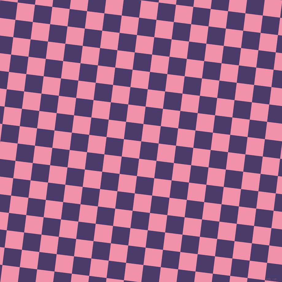 83/173 degree angle diagonal checkered chequered squares checker pattern checkers background, 57 pixel square size, , Meteorite and Mauvelous checkers chequered checkered squares seamless tileable