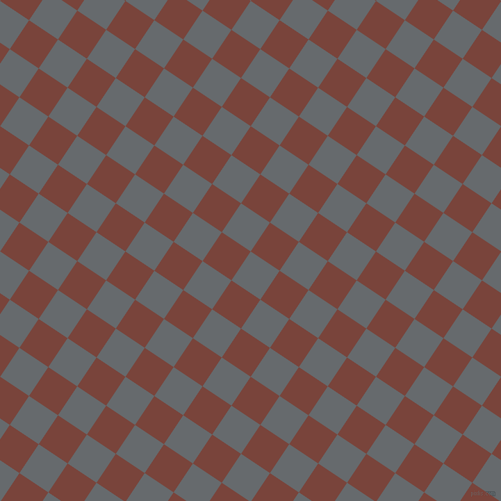 56/146 degree angle diagonal checkered chequered squares checker pattern checkers background, 50 pixel square size, , Mid Grey and Bole checkers chequered checkered squares seamless tileable
