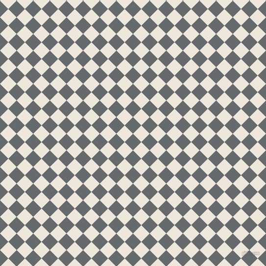 45/135 degree angle diagonal checkered chequered squares checker pattern checkers background, 24 pixel square size, , Mid Grey and White Linen checkers chequered checkered squares seamless tileable
