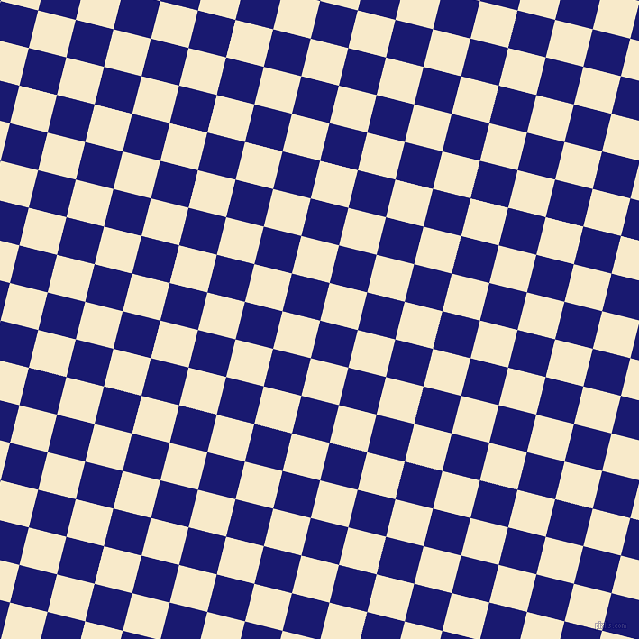 76/166 degree angle diagonal checkered chequered squares checker pattern checkers background, 43 pixel squares size, , Midnight Blue and Gin Fizz checkers chequered checkered squares seamless tileable