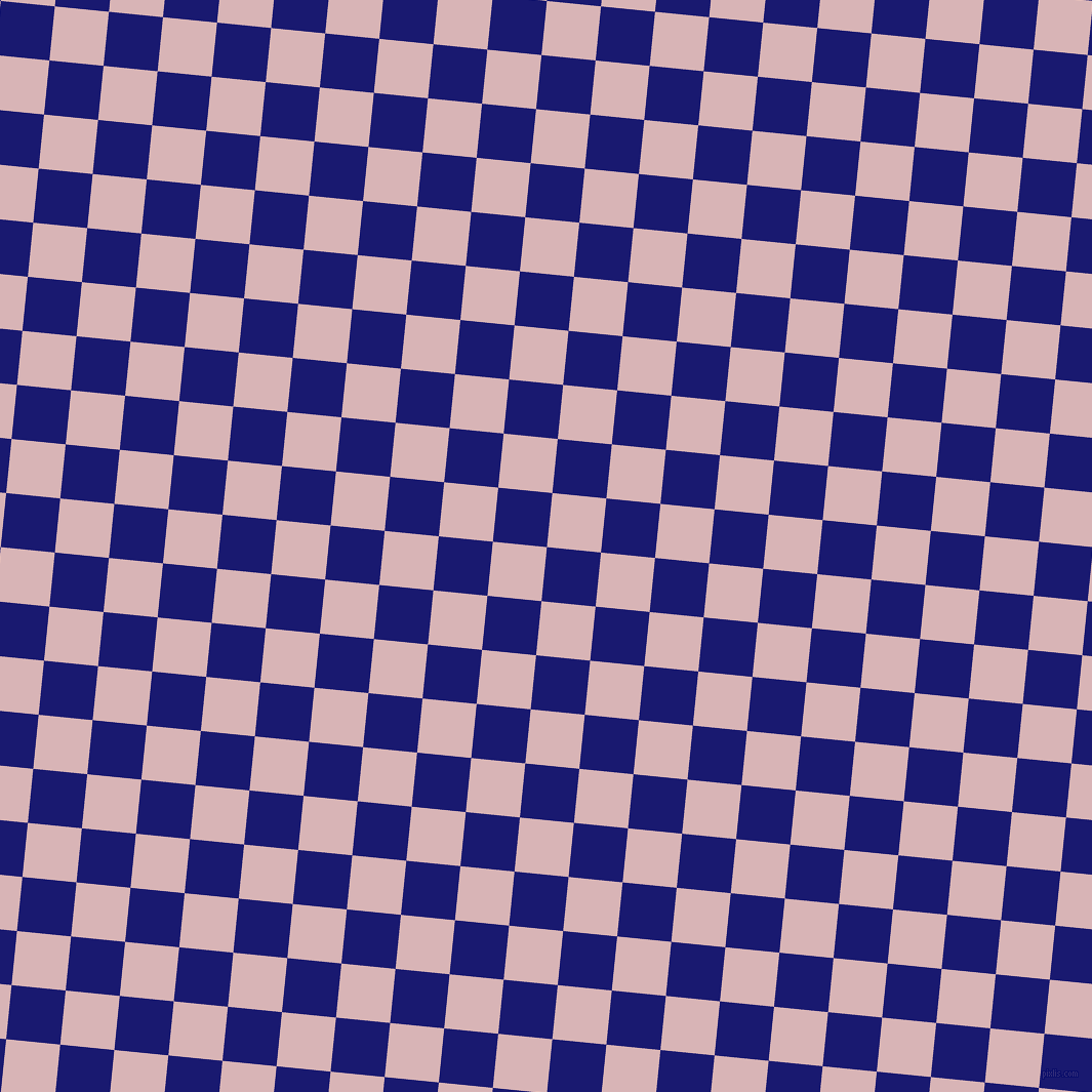 84/174 degree angle diagonal checkered chequered squares checker pattern checkers background, 53 pixel square size, , Midnight Blue and Pink Flare checkers chequered checkered squares seamless tileable