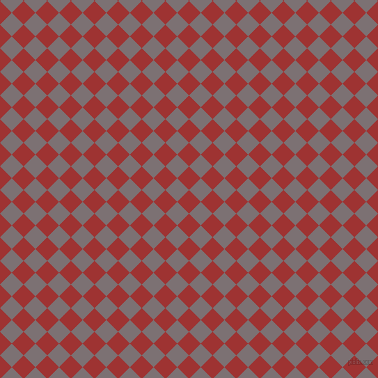 45/135 degree angle diagonal checkered chequered squares checker pattern checkers background, 24 pixel square size, , Milano Red and Empress checkers chequered checkered squares seamless tileable