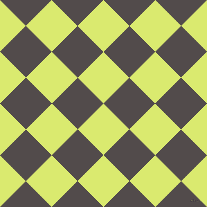 45/135 degree angle diagonal checkered chequered squares checker pattern checkers background, 126 pixel square size, , Mindaro and Matterhorn checkers chequered checkered squares seamless tileable