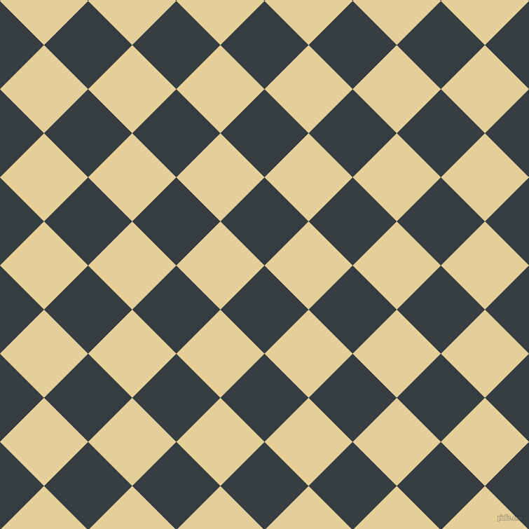 45/135 degree angle diagonal checkered chequered squares checker pattern checkers background, 89 pixel square size, , Mine Shaft and Double Colonial White checkers chequered checkered squares seamless tileable