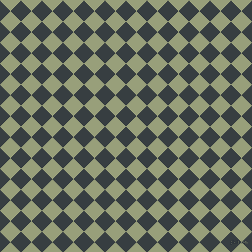 45/135 degree angle diagonal checkered chequered squares checker pattern checkers background, 30 pixel squares size, , Mine Shaft and Sage checkers chequered checkered squares seamless tileable