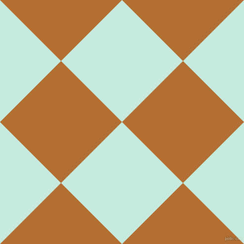 45/135 degree angle diagonal checkered chequered squares checker pattern checkers background, 175 pixel square size, , Mint Tulip and Reno Sand checkers chequered checkered squares seamless tileable