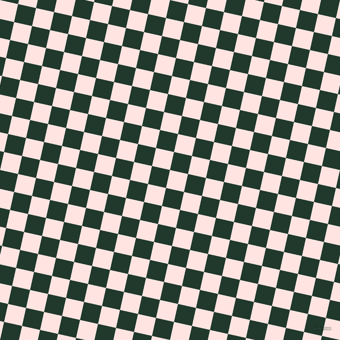77/167 degree angle diagonal checkered chequered squares checker pattern checkers background, 38 pixel squares size, , Misty Rose and Palm Green checkers chequered checkered squares seamless tileable