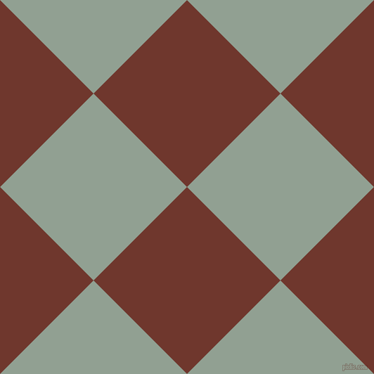 45/135 degree angle diagonal checkered chequered squares checker pattern checkers background, 188 pixel squares size, , Mocha and Pewter checkers chequered checkered squares seamless tileable