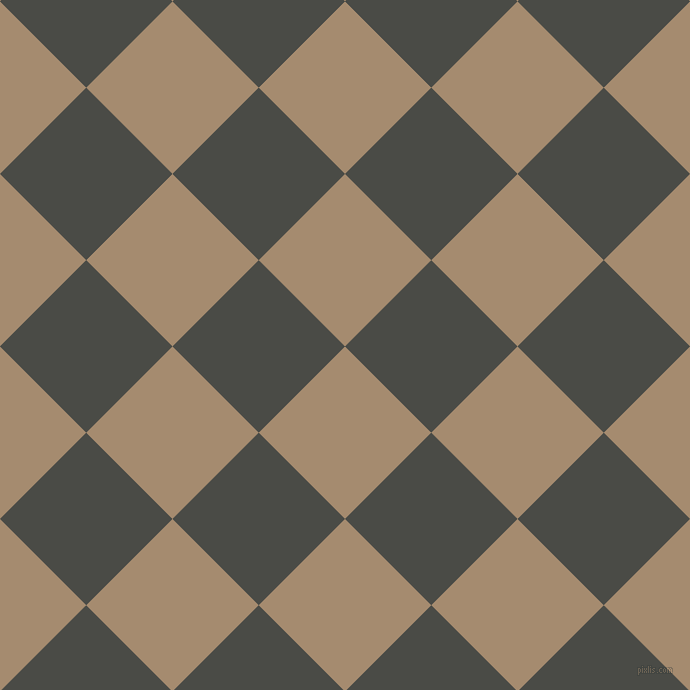 45/135 degree angle diagonal checkered chequered squares checker pattern checkers background, 122 pixel square size, , Mongoose and Gravel checkers chequered checkered squares seamless tileable