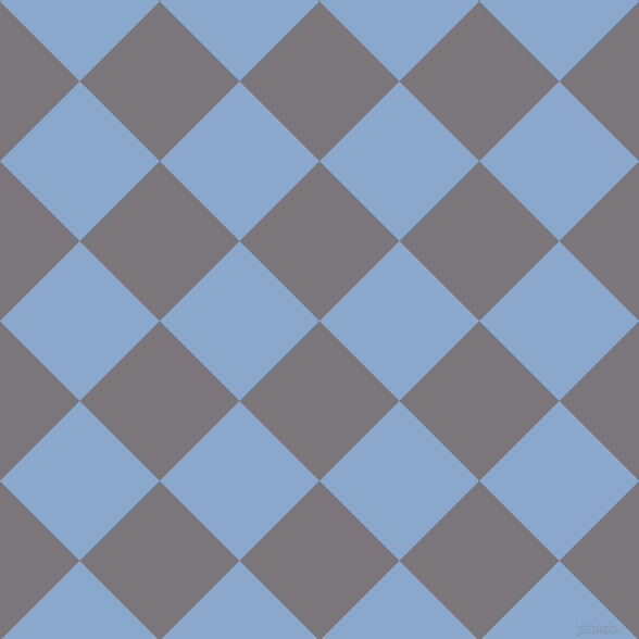 45/135 degree angle diagonal checkered chequered squares checker pattern checkers background, 104 pixel squares size, , Monsoon and Polo Blue checkers chequered checkered squares seamless tileable