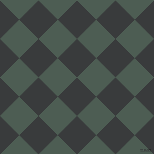 45/135 degree angle diagonal checkered chequered squares checker pattern checkers background, 87 pixel square size, , Montana and Feldgrau checkers chequered checkered squares seamless tileable