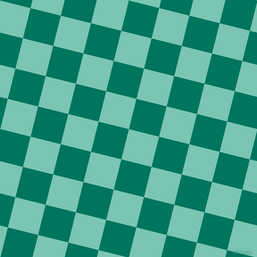 76/166 degree angle diagonal checkered chequered squares checker pattern checkers background, 62 pixel squares size, , Monte Carlo and Tropical Rain Forest checkers chequered checkered squares seamless tileable